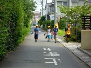 松小6年と2年の男の子たちです。